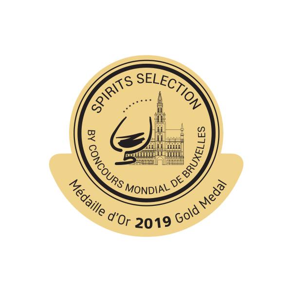 Une Médaille d'Or au Concours Mondial des Spiritueux